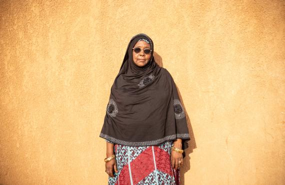 'This forum reminds us our roles and responsibilities on children´s immunization. I personally sensitize the mothers of our department about the importance of vaccines´ Mariama Adamouy, the only woman Préfet in the Tahoua.