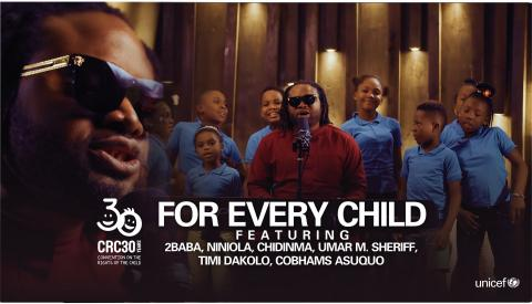 For Every Child Music Video Cover