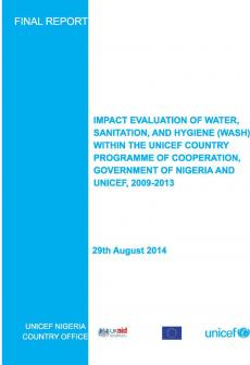 Nigeria-impact-evaluation-WASH-within-UNICEF-country-programme-2009-13