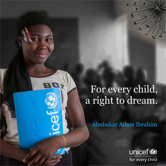 For every child, a right to dream
