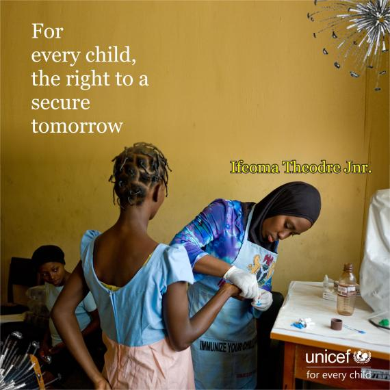 For every child, the right to a secure tomorrow