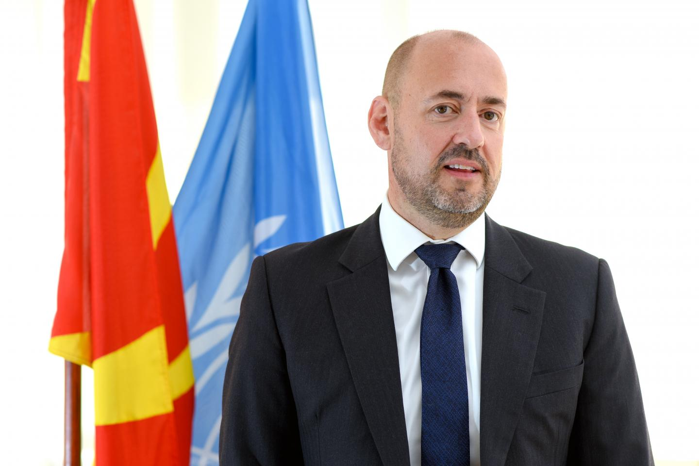 Photo of Benjamin Perks, UNICEF Representative