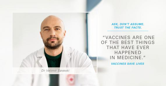 Vaccines save lives | UNICEF North Macedonia