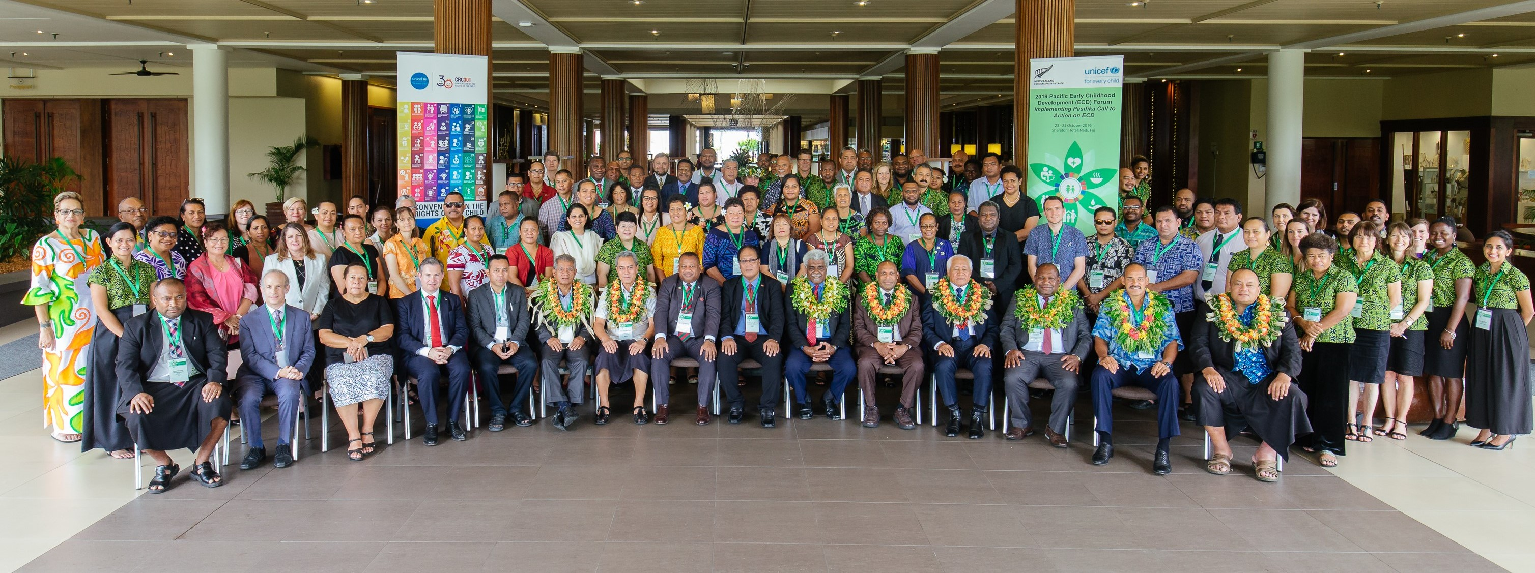 Delegates attending the 2019 Pacific Early Childhood Development Forum in Nadi, Fiji.