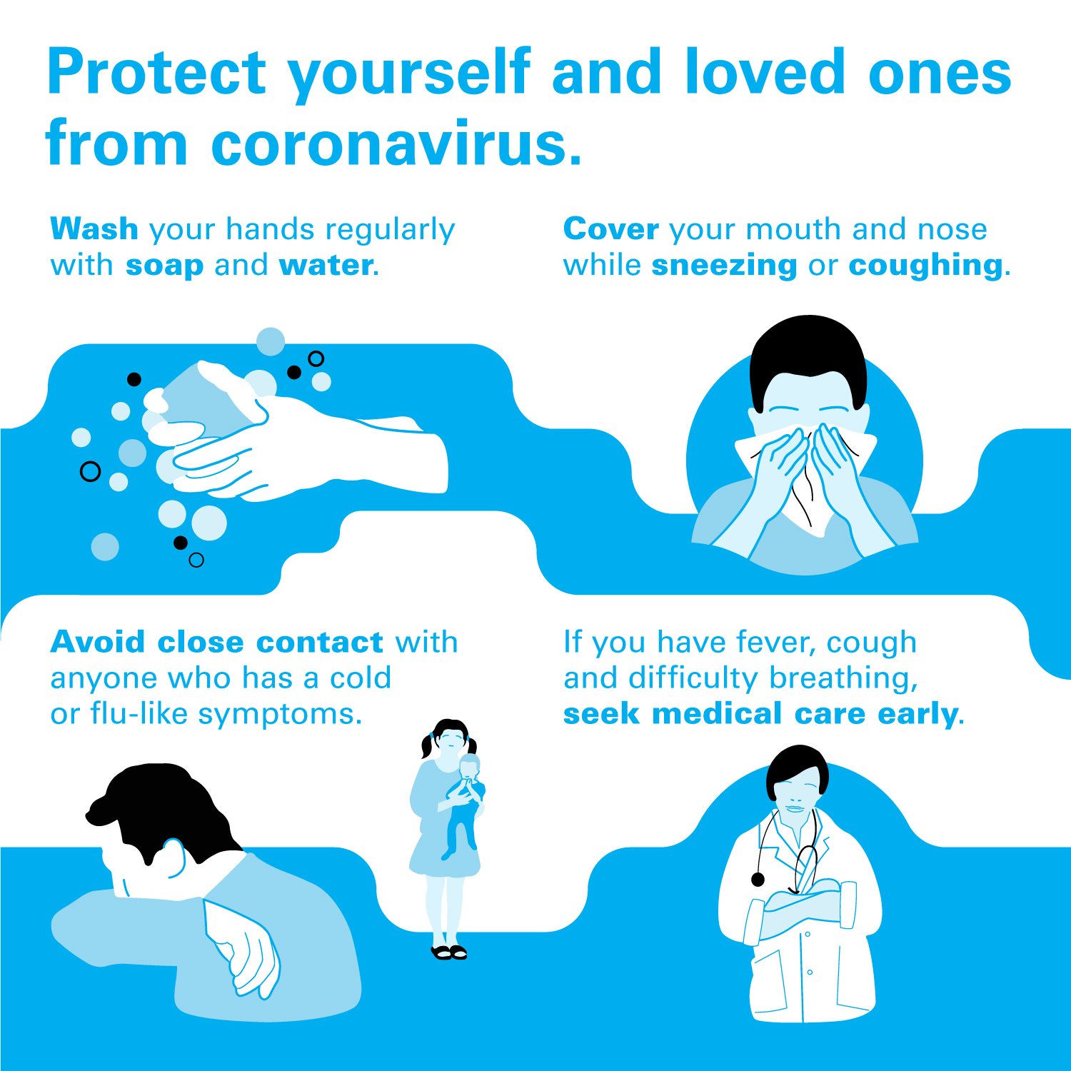 Protect yourself and loved ones from coronavirus