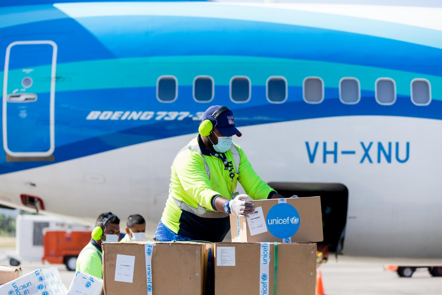ADB, UNICEF and WHO provide medical supplies to Tonga for COVID-19 response