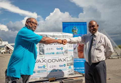 Solomon Islands receive 24,000 doses of COVID-19 vaccines through the COVAX facility