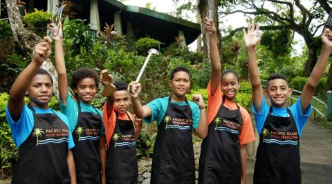 Pacific Kids Food Revolution