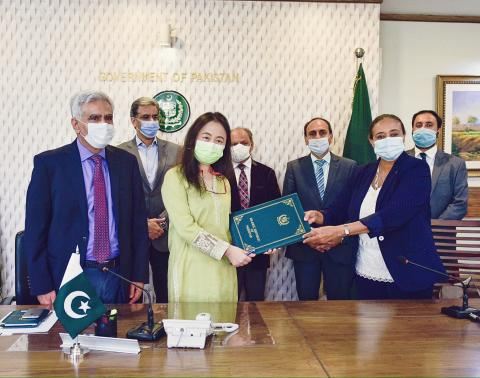ADB and UNICEF agreement