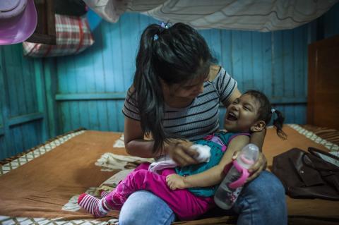 Por un país sin violencia ni embarazo adolescente   UNICEF