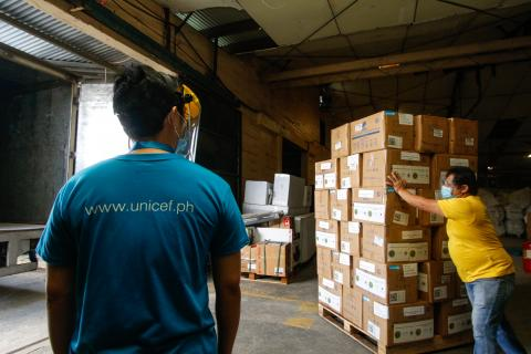 UNICEF to lead procurement and supply of COVID-19 vaccines in world's largest and fastest ever operation of its kind