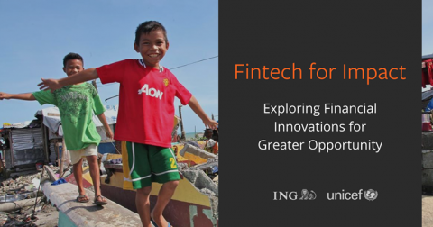 ING UNICEF Fintech For Impact