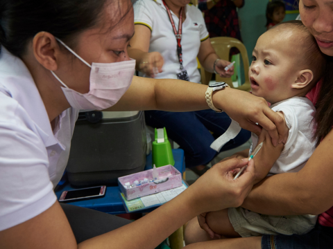 Measles vaccination in the Philippines