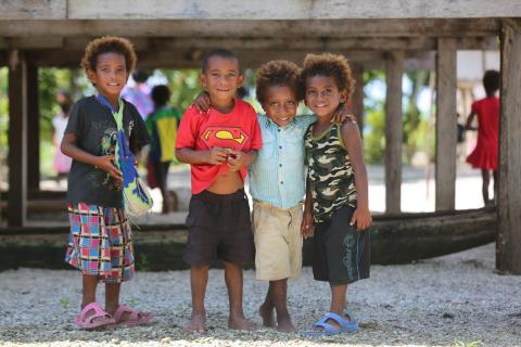 Early Childhood Development in Papua New Guinea.