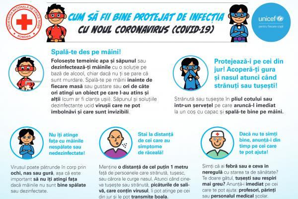 Poster Coronavirus format landscape   UNICEF Romania