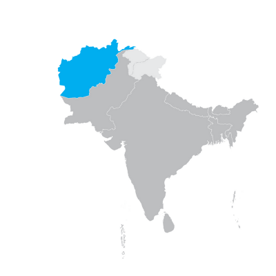 Regional Map Of Asia.Where We Work Unicef South Asia