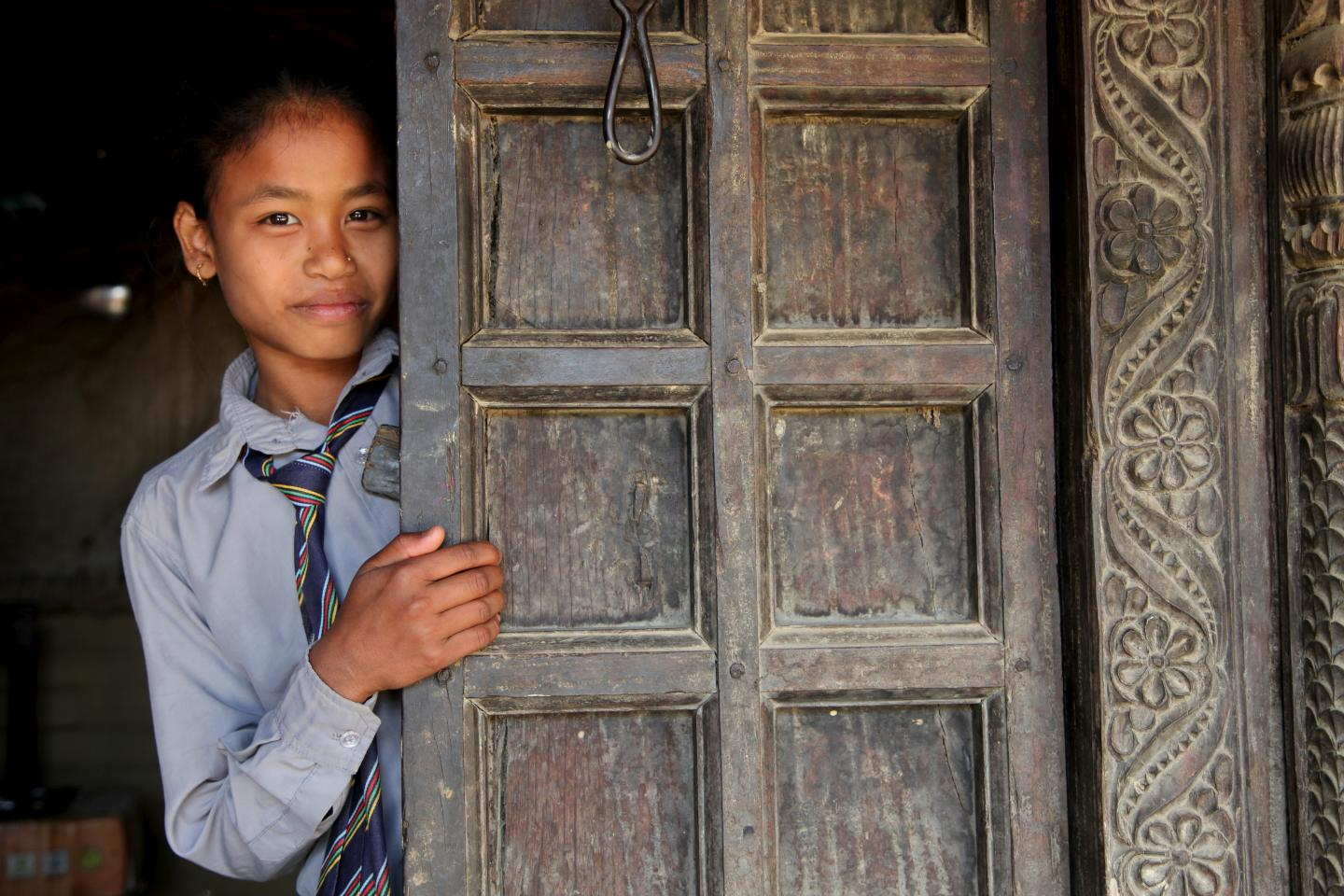 Adolescent girl in nepal