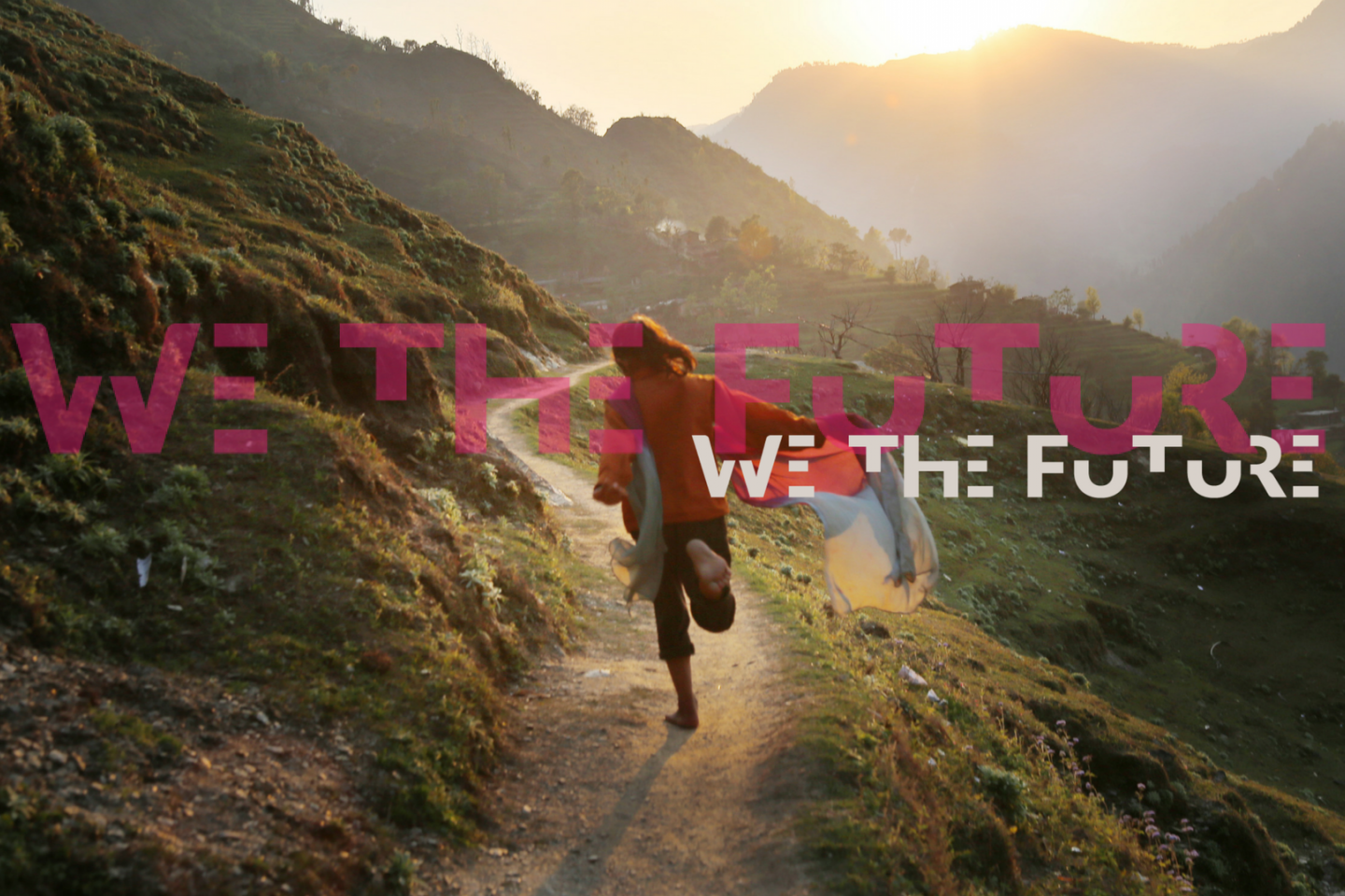 We the future image and logo