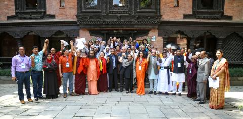 Religious leaders meeting in South Asia