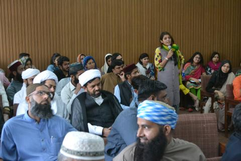 MHM consultation with religious leaders in Pakistan