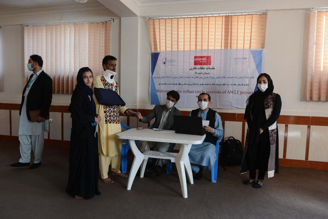 Cash transfer supports girls' education in Afghanistan
