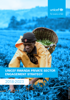 UNICEF Rwanda Private Sector Engagement Strategy Cover