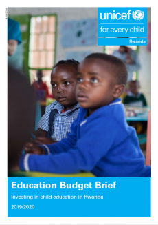 Education Budget Brief 2019-2020 Cover