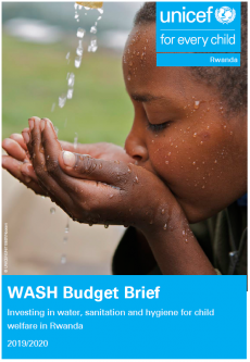 WASH Budget Brief 2019-2020 Cover
