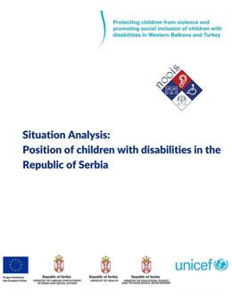 Position of children with disabilities in the Republic of Serbia