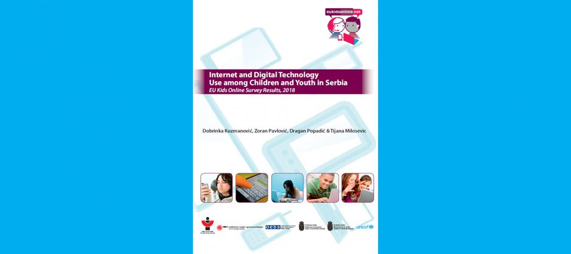 Internet and Digital Technology Use among Children and Youth in Serbia cover