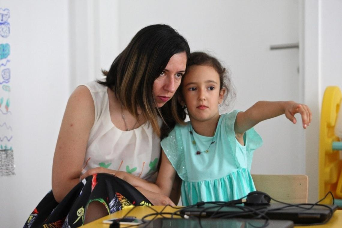 Vasilisa asks her mom and preschool teachers about everything she wants to know about computers and the internet.