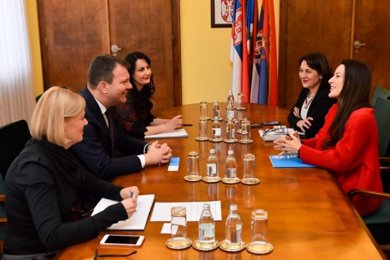 President of the Vojvodina Government  and UNICEF Representative