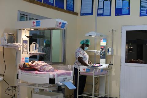 A Special Care Baby Unit (SCBU) newly established at the Kailahun District Hospital eastern Sierra Leone