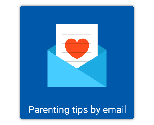 parenting tips by email sign up