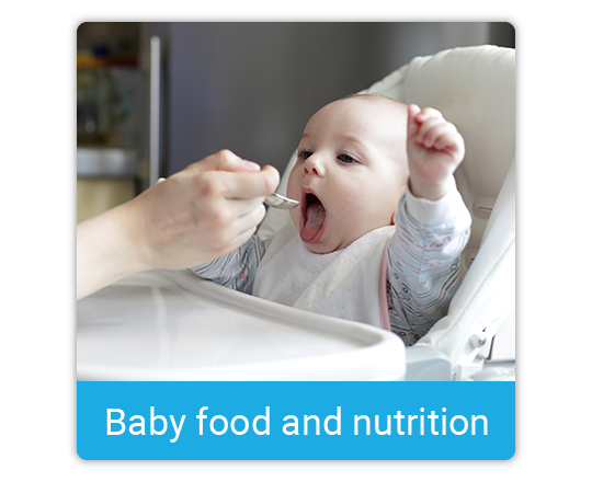 Baby food and nutrition
