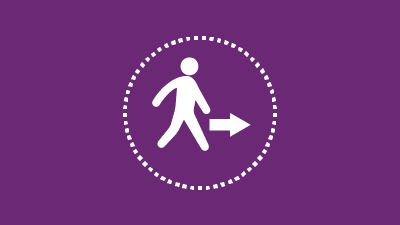 Graphic representing children on the move