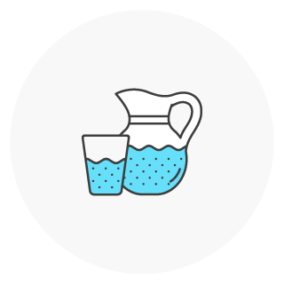 pitcher and glass icon