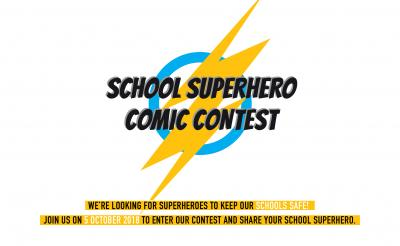 School superhero comic contest
