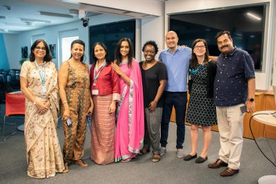 Cultural diversity at the GSSC