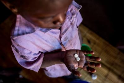 Longezo is 3 and living with HIV in Nkhuloawe Village, Malawi.