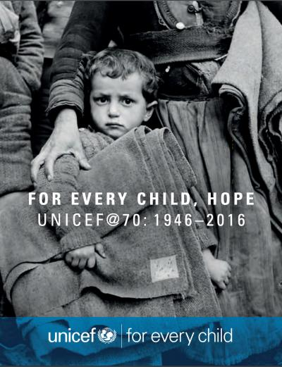 UNICEF-at-70 cover image