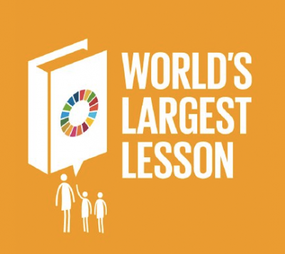 Worlds largest lesson icon