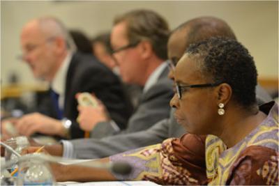 UNICEF Executive Board meeting in progress