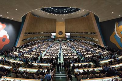 UN General Assembly in progress
