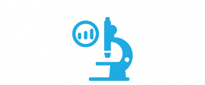 Research and analysis icon