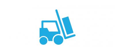 Supply and logistics icon