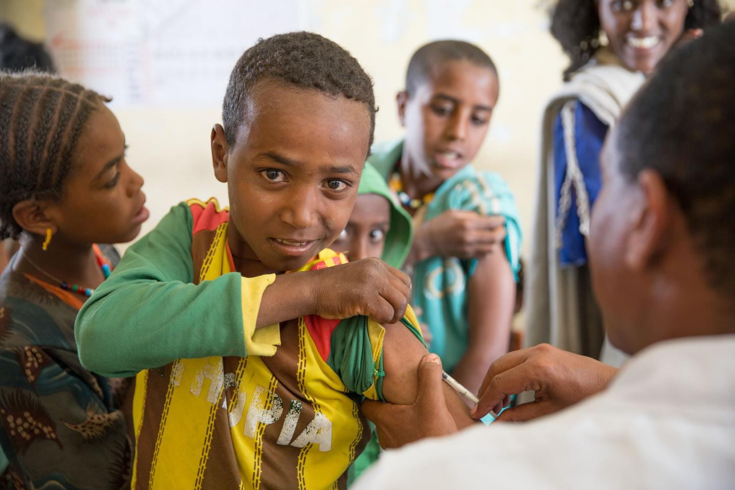 In drought-stricken Ethiopia, stopping measles in its tracks