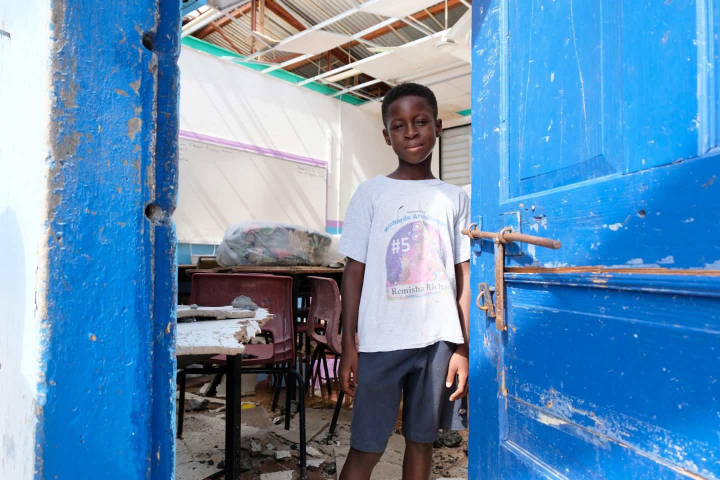 Children uprooted in the Caribbean   UNICEF