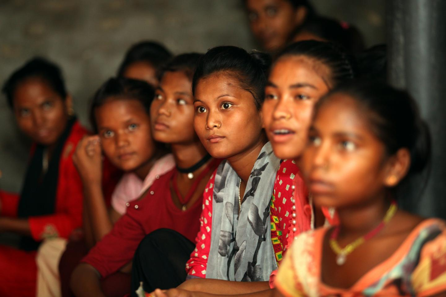 In Nepal, 40 per cent of girls are married before they turn 18. The Global Programme helps girls at risk of dropping out of school to continue their education and provides training to out-of-school girls to ease their reintegration in the formal education system.