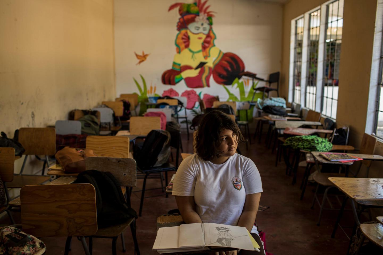 teenagers in honduras face violence bullying in schools  unicef
